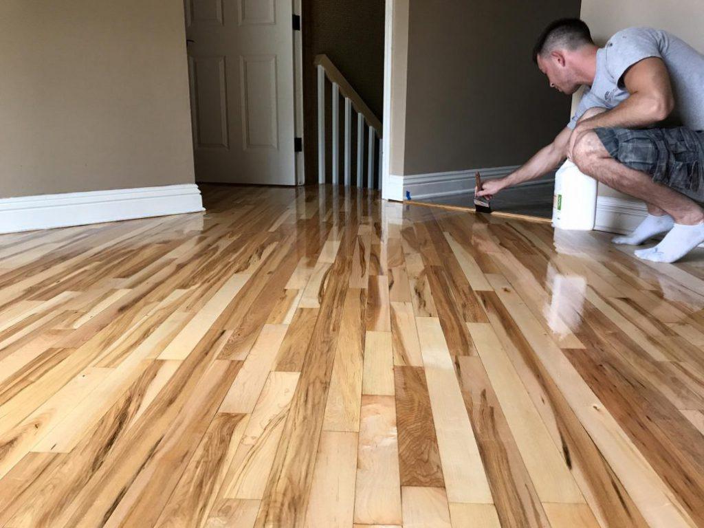 professional hardwood floor company