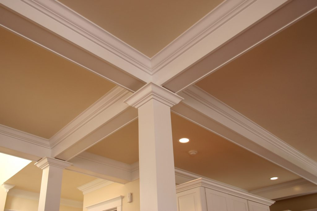 interior, molding, pillar, support, architecture, ceiling, intricate, beam, rafter, home, house, inside, wood, trim, decorate, remodel, cross, crown, expensive,
